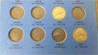 Jefferson Nickel Collection 1938+ Partially