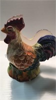 Rooster Art  23x18 & Ceramic Pieces