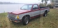1992 Chevrolet S10 Pickup Truck