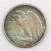 1944 Walking Liberty Half Dollar - 12.5g Weight