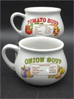 (4) Soup Mugs