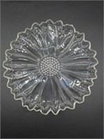 (8) Floral Snack Plates 10.25""