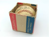Vintage Spalding Baseball and Package