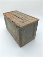 .50 Cal. Empty Ammo Crate