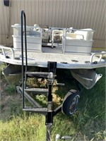 Marine Max Signature Series Party Barge Boat w/ Tr