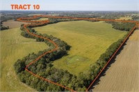 336 +/- Acres Row Crop with Pasture & Timber