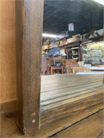 Antique 4 Pane Window Mirror
