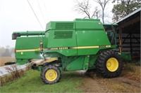 JD 9500 Combine Online Auction