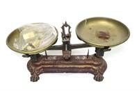 Victorian 1 K. - W. D. Brass & Iron Balance Scales