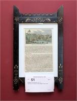"Eastlake framed print, 12"" x 7"" -"