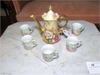 Lefton China Porcelain Chocolate pot,