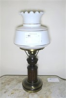 "Table lamp, 22"" H."