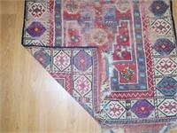 """2' 9"""" x 4' Caucasian Oriental Rug"""