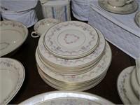 """Syracuse China Old Ivory """"Arcadia"""" w/ serving pcs."""