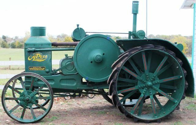 1926 RUMELY OIL PULL TRACTOR