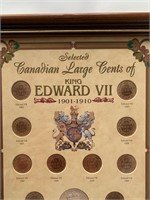Canadian Large Cent Collection 1901-1910