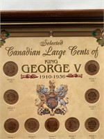 Canadian Large Cent Collection 1910-1936