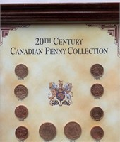 20th Century Canadian Penny Presentation Collectio