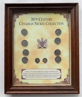 20th Century Canadian Nickel Presentation Collecti