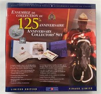 (3) Sets Canada RCMP 125th Year Anniversary