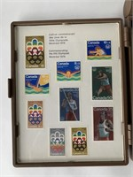 (2) Sets of 1976 Olympiad Stamps