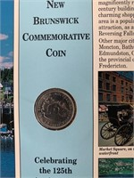 RCM New Brunswick and NWT Coins 125th Year