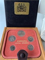 (3) Set Sets Canada Official Coins 1979