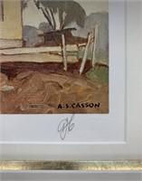 A.J.Casson Artist Proof 49/60 Old Farm House