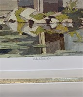 A.J.Casson Artist Proof 49/60 Lake Clarendon