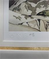 A.J.Casson Artist Proof 49/60 Cloche Hills