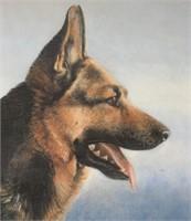 Brian Darcy Framed Print 1996 German Shepherd