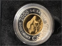 2000 Polar Bear Proof $2 Coin