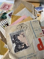 Lot of World Stamps with Raytech UV Equipment View
