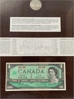 Canada Confederation 1867-1967 Coin and Bank Note