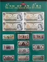 End of an Era The Last One Dollar Bills of Canada