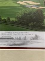 2008 RBC Canadian Open 11th Hole Print