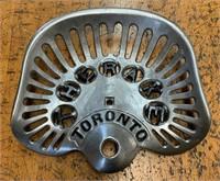 Antique THE RAKE Toronto Farm Implement Seat