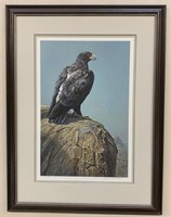 "Robert Bateman LTD Edition ""Black Eagle"""