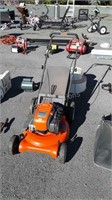 Husqvarna Pushmower, rear bag, LC121P model, has