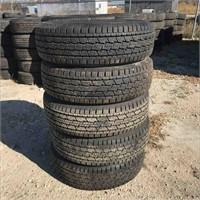 New Set Of 4 Tires LT 225/75R16 General Grabber HT