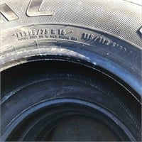 New 1 Tire LT225/75R16 General Grabber HTS