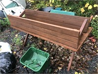 PICNIC TABLE AND 2 BENCHES
