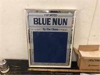 BLUE NUN MIRROR