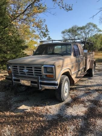 1984 F250 4x4 Dually Ext Cab 6.9 Diesel Pick-Up