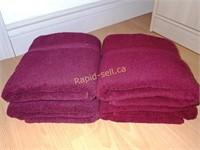 Queen Size Comforter, New Blanket & Towels