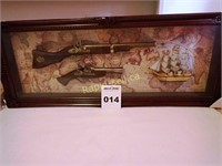 The History of Guns Shadowbox
