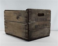 Advertising: Ray Robinson Apple Crate,