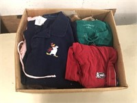 BOX OF CLOTHING