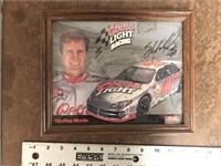 SIGNED NASCAR PRINT
