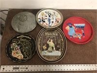 TIN TRAYS AND VW HUBCAP